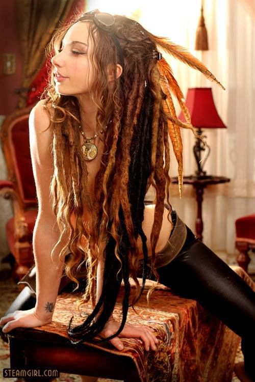 Dreadlocks with sexy girls