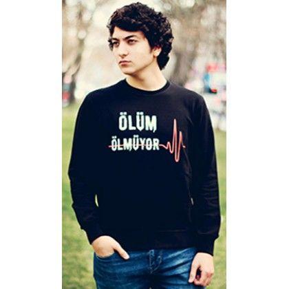 MY WAY ISLAM Ölüm Ölmüyor, sweatshirt, İslami mesajlar veren Tişörtler