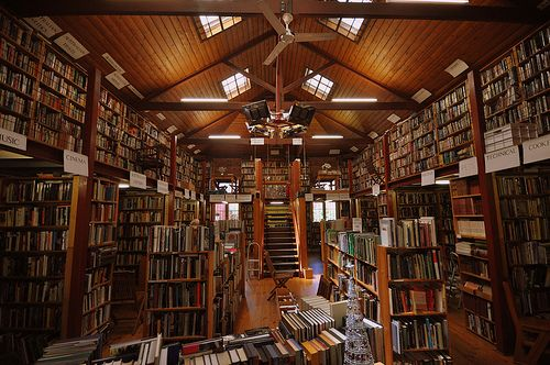 Book Now Bookshop in Bendigo, Victoria, Australia.  A great place to fossick through old books