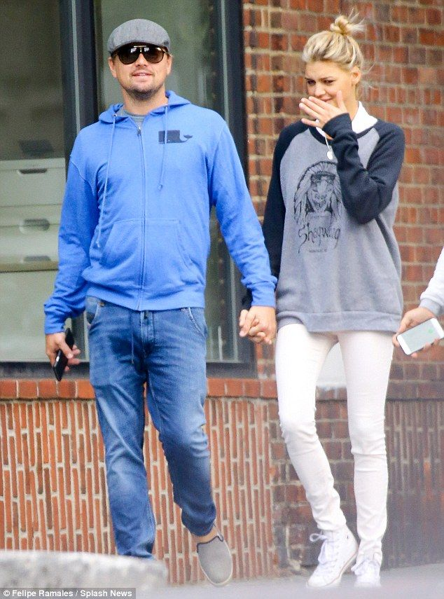 The real thing? Leonardo DiCaprio and Kelly Rohrbach have only been dating for about three months but already appear smitten with each other. They were spotted taking a walk in New York City on Sunday