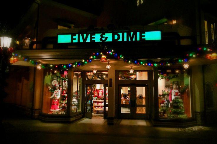 Disneyland Christmas - California Adventure Christmas Lights - Urban Fringe Living