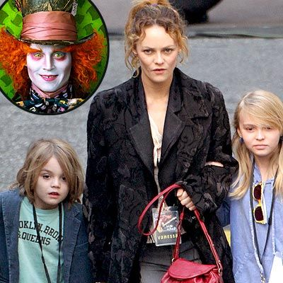 Johnny Depp's Kids Give Alice a Thumbs-Up | Vanessa ...