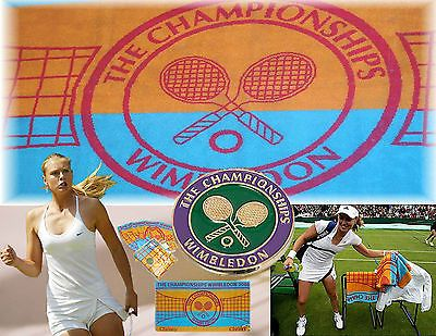 Pants 179018: Christy Wimbledon Tennis Club Tournament Towel Ladies 2006 BUY IT NOW ONLY: $41.37