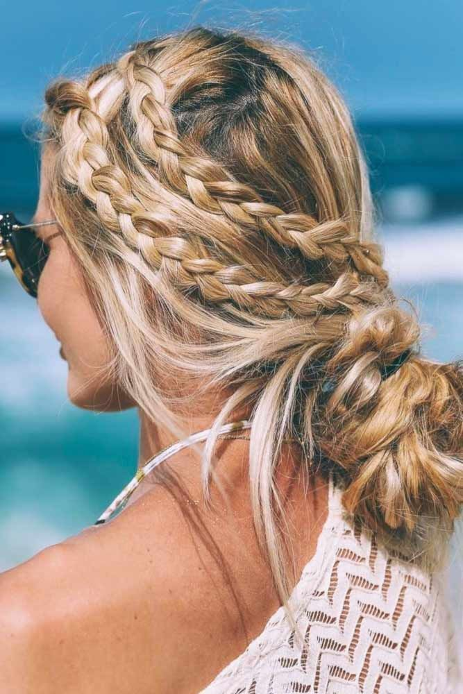 Our Ideas Of Summer Hairstyles Will Save You From Hot Weather Humidity And Frizz We Have Styling Options For Long Hair And Medium Hair Sac Sac Stilleri Stil
