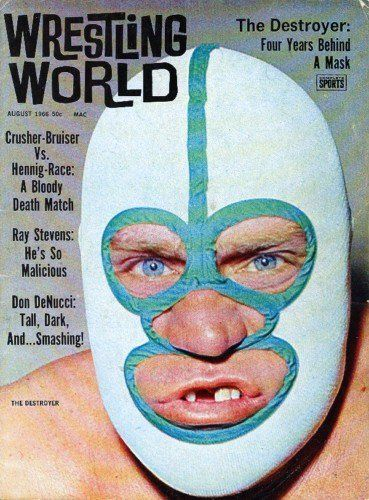 luchaversusninja:  WRESTLING WORLD had the single most hip title treatment of any vintage mat mag…