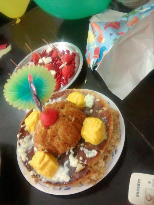 Harish's birthday cake - 2016