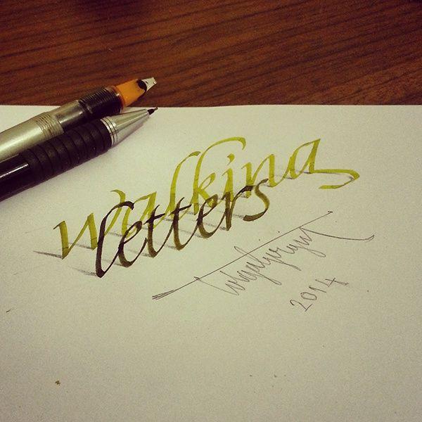 Anamorphic lettering - Imgur