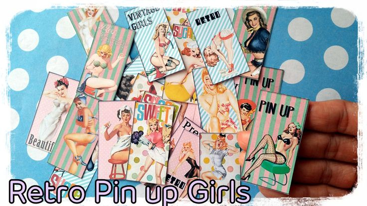 24x Retro Pin Up Girls,Vintage paper ephemera,scrapbook ephemera art,Snailmails in Crafts, Scrapbooking & Paper Crafts, Scrapbooking & Card Kits | eBay!