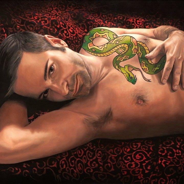 from Bruce gay snake charmer