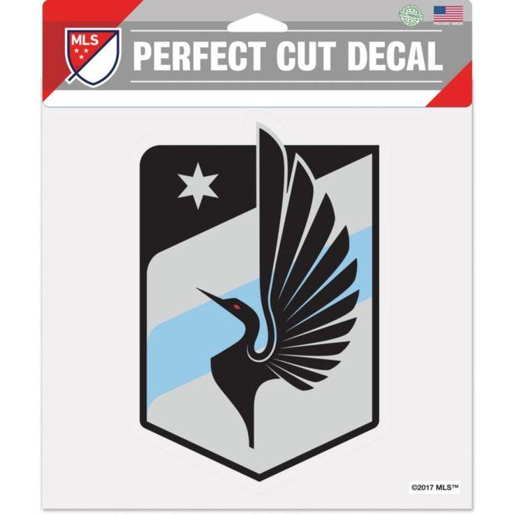 "WinCraft Minnesota United FC 8"" x 8"" Decal, Multi"