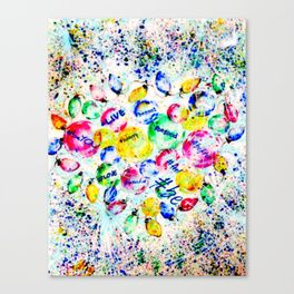 #BE Canvas Print