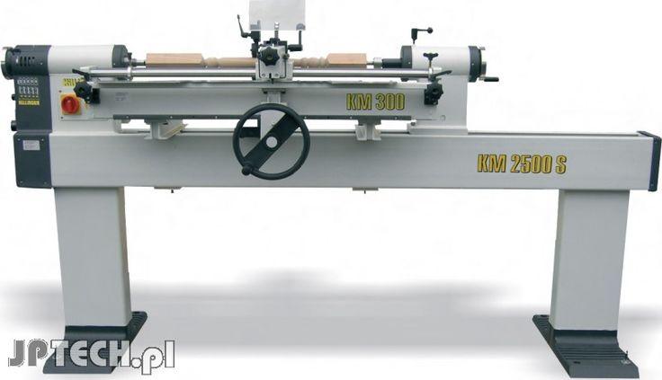Killinger KM 2500 S profesjonalna tokarka do drewna - JP-Tech - maszyny do obróbki drewna i metalu, elektronarzędzia, wyposażenie warsztatu, pneumatyka, materiały ścierne