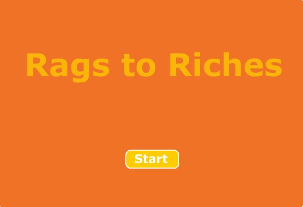 Independent simple subject and predicate Rags to Riches Game