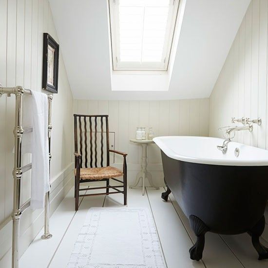 Victorian Bathrooms Decorating Ideas: Take A Tour Around A White Hamptons-style Victorian Terrace In London