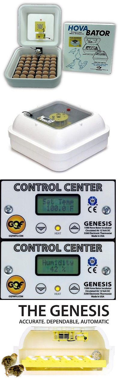 Incubators 46292: Hovabator Genesis 1588 Digital Egg Incubator | Incuturn Universal Auto Turner BUY IT NOW ONLY: $179.0