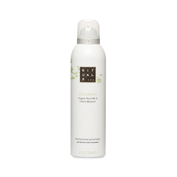 Rituals Rice Milk and Cherry Blossom Foaming Shower Gel