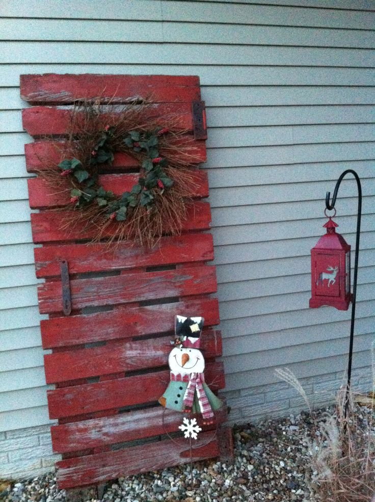 Old Barn Doors Decoration 53 best repurposed christmas decor images on pinterest | christmas