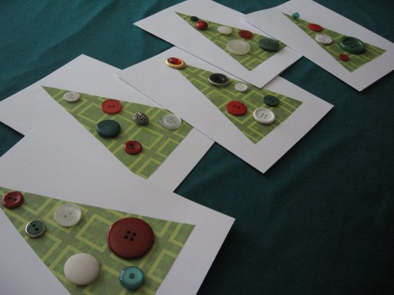 Christmas cards - easy design to make several cards quickly