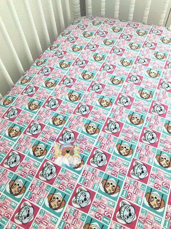 Disney Paw Patrol Dog Cotton Sheet