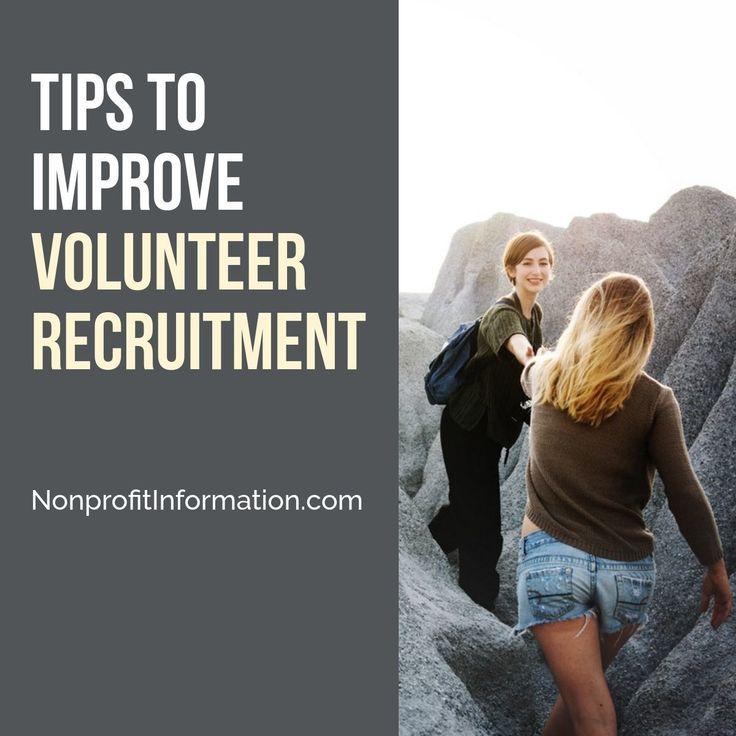 How to Recruit Volunteers - 9 Ways to Improve Volunteer Recruitment
