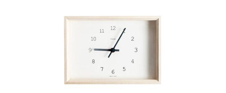 Lemnos Maple Wall Clock - Kaufmann Mercantile