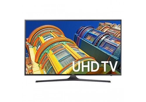 Samsung UN43KU6300 43 Black LED UHD 4K Smart HDTV  UN43KU6300FXZA