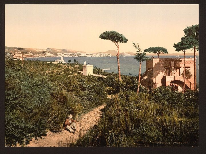 100-Year-Old Photos Give a Rare Colorful Glimpse of Past Generations in Naples - My Modern Met