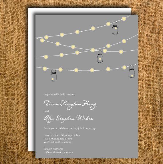 Printable Wedding Invitation  Reply Card. $20.00, via Etsy. Love this!