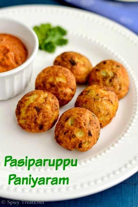 Spicy Treats: Pasiparuppu Paniyaram | Moongdal Paniyaram ~ Healthy Snack Recipe