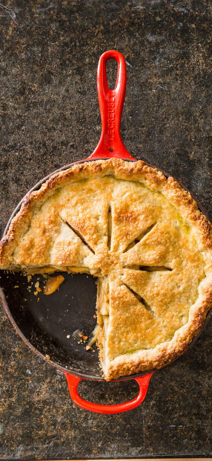 Cast Iron Apple Pie. There's nothing quite like a classic apple pie, especially for the Thanksgiving table.