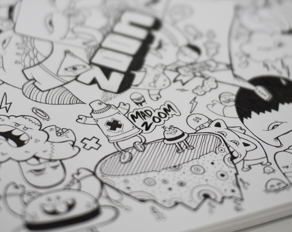 Mad Zoom by Gunnar Frigaard, via Behance