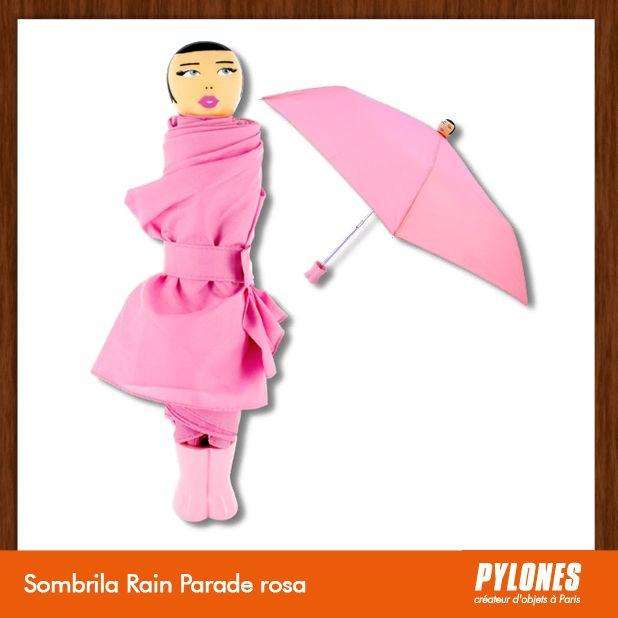 #Sombrilla Rain Parade rosa @pylonesco Pylones Colombia #navidad #regalos #pylones #noviembre — en Colombia.