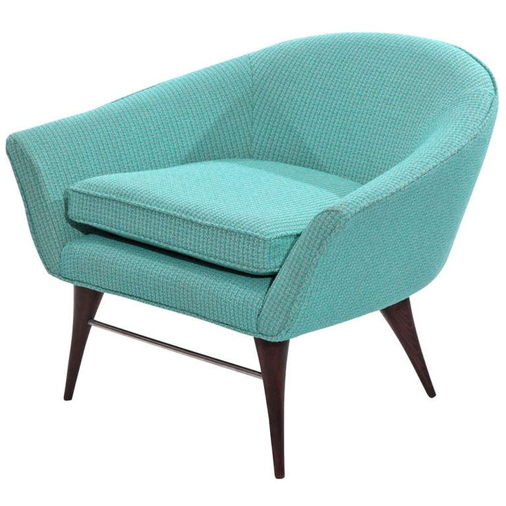 Sculptural Tub Chair by Karpen | From a unique collection of antique and modern lounge chairs at https://www.1stdibs.com/furniture/seating/lounge-chairs/