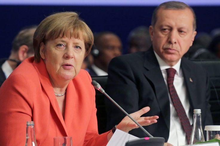 Erdogan richt zich tot Merkel: 'Jij doet aan nazi-methoden!' - Elsevier.nl