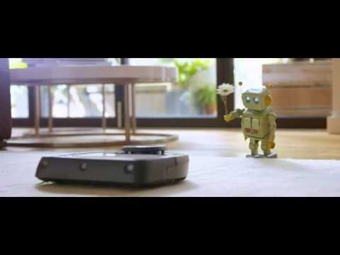 """▶ Robot Love Story Saatchi & Saatchi Dusseldorf for Vorwerk's Kobold robot vacuun """"LoveSucks """" - YouTube"""