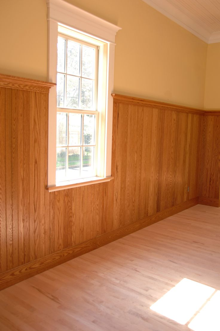 Red Oak Wainscot Wainscoting Height Wood Wainscoting