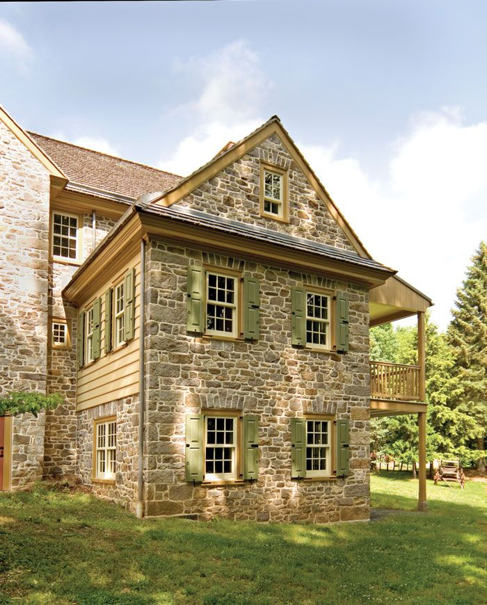 118 best images about colonial stone homes on pinterest for Custom victorian homes