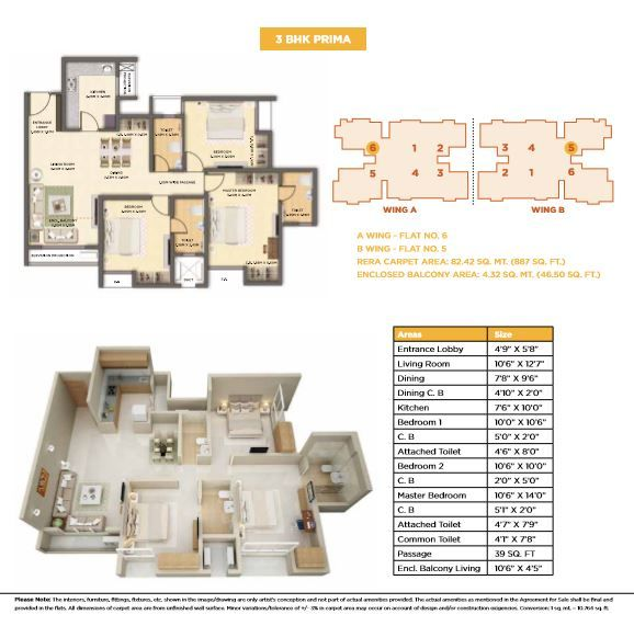 Dosti West County Dosti Cedar Floor Plan Dosti Cedar 3 Bhk Prima Floor Plan Floor Plans Luxury Homes Cedar