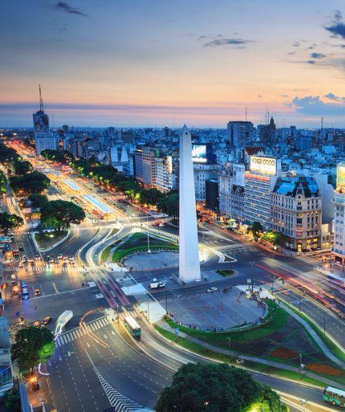 Buenos Aires's exclusive Palermo neighborhood
