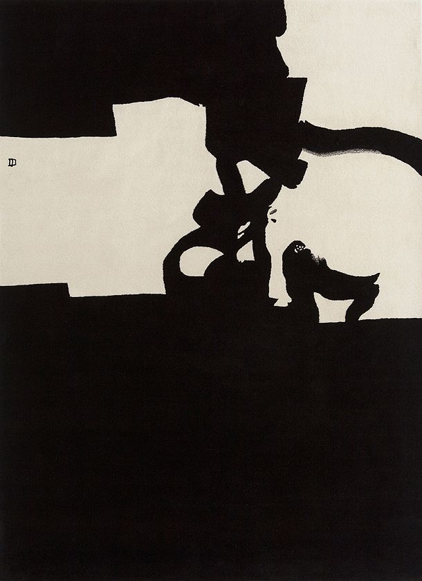 Eduardo Chillida. Collage 1966 Nanimarquina.
