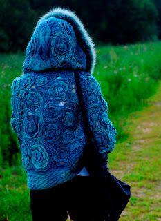 Fall-Winter 2015-2016: Цветочная куртка