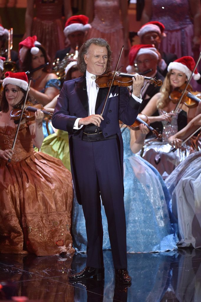 Andre Rieu Photos - Andre Rieu during the tv show 'Heiligabend mit Carmen Nebel' on November 23, 2016 in Munich, Germany. The show will air on December 24, 2016. - Andre Rieu Photos - 1 of 343