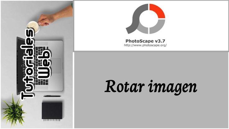 PhotoScape 2017 - Rotar imagen (español)