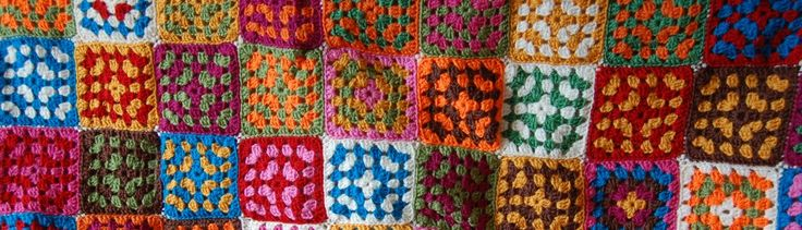 colorful grannysquares