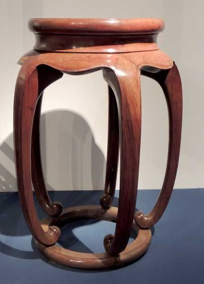 Ming dynasty furniture shanghai museum round drum stool for X furniture shanghai