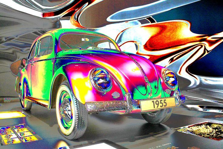 VW Käfer bunt