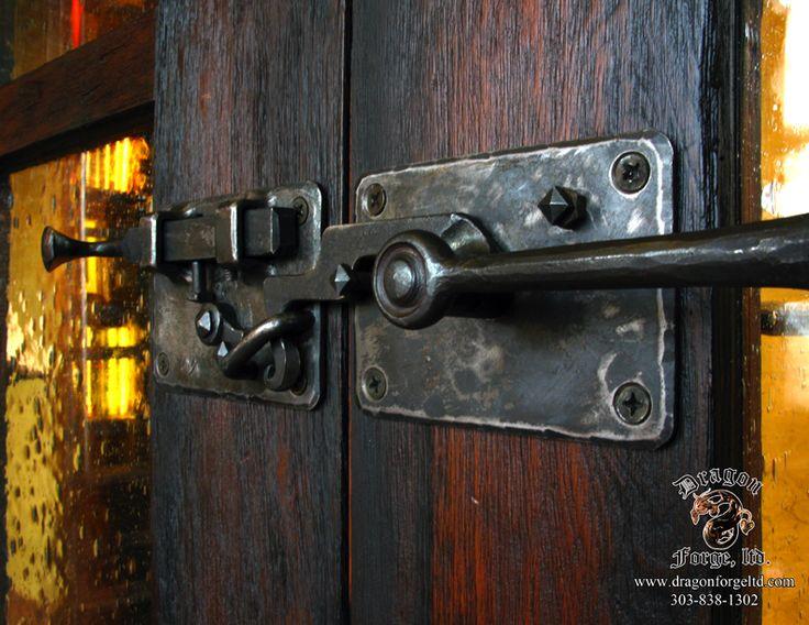 Custom Craftman Style Office Door Hardware With Functional