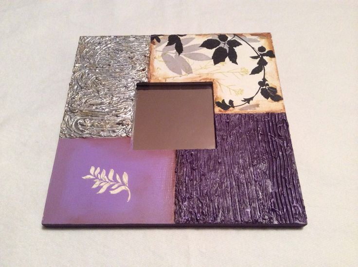 Espejo decorado del ikea bolsos pinterest ikea for Espejos ovalados para decorar