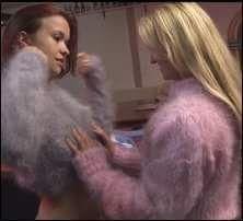 lesbian angora sweater video