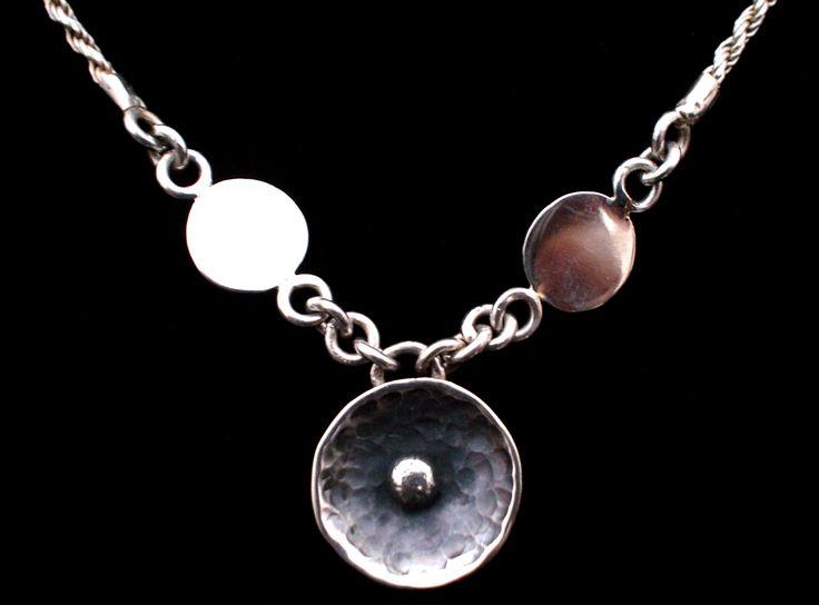 Collar de plata 925. Diseño original y elaboración por Sofia Viaud Kuny.